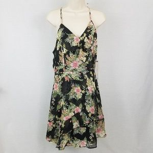 Floral Print Ruffle Dress  Almost Famous
